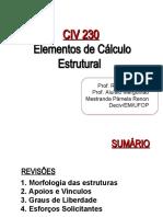 Elementos de Cálculo Estrutural - UFOP