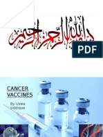 Cancer Vaccines