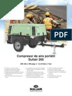Catalogo Comercial Sullair 260