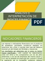 Análisis e Interpretación de Índices Financieros