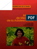Manual de Medicina de La Adolescencia