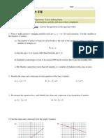 Math 10 Exam - June 09 (Mod Part III)