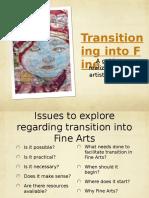 Transition Training Activity