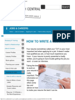 How to Write a Resume & Interview Tips - Youth Central