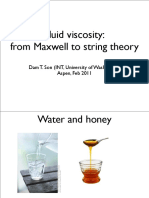 Dam T.son, Fluid Viscosity. From Maxwell to String Theory, 2011