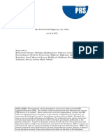 Highways Act PDF