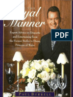 [Paul Burrell] in the Royal Manner Expert Advice (3)