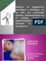 Enfermedades exantematicas de la infancia