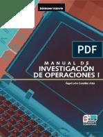 Manual de Investigación de Operaciones - Angel León González