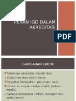 Peran IGD Dalam Akreditasi