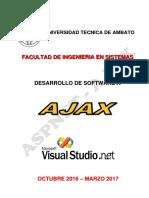 Desarrollo de aplicaciones AJAX Introductoria
