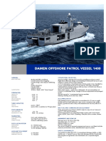 Offshore Patrol Vessel 1400 DS