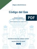 BOE-130 Codigo Del Gas