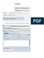 PFCG_Creation of Authorizations