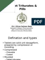 Tablet Triturates SB