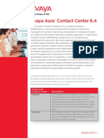 Avaya Aura Contact Center GCC4745