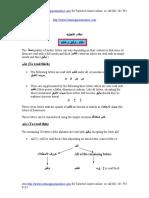 English Tajweed rules Module 5