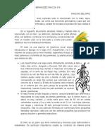 Analisis Del Maiz