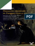 Manuscrito Encontrado en Zarago - Jan Potocki