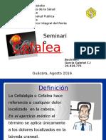 Modulo 1 Seminario Cefalea