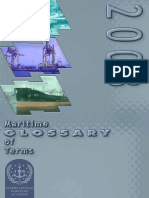 Maritime Glossary of Terms 2003