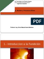 Fundicion, Moldeo y Procesos Afines