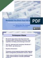 Membedah Peta Bisnis Pasar ERP Di Indone