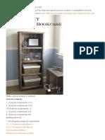 Ana Branco _ Criar Uma Kentwood Bookshelf _ Free and Easy Projeto DIY e Planos de Móveis