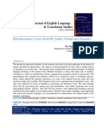 Motivating Learners to Learn Libyan EFL Teachers' Strategies and a Perspective