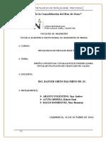 Diseño Conceptual y Evaluación Económica Para Instalar Una Planta de Chancado de Caliza