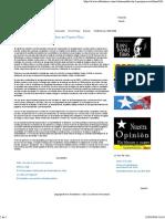Los Federales y El Narcotráfico en Puerto Rico