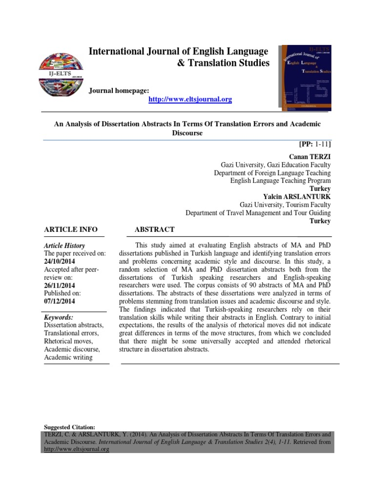 dissertation abstract international section b the science engineering