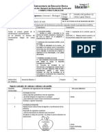 Planeación Completa Bloque 2 Biología Sec 10 2016 - 2017