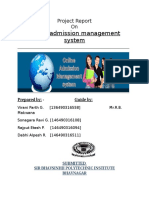 online admission system