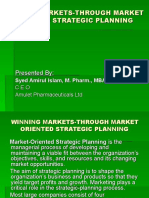 Winning Market through Market Oriented Strategic Planning.ppt