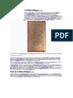 Características de La Edad Antigua