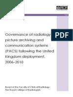 Governance of Radiology PACS v3