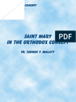 Tadros Yacoub Malaty - Saint Mary in the Orthodox Concept