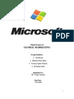 Final Project of Microsoft