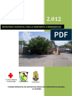 Estrategia Municipal de Respuesta Albania Final