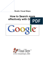 How to Search More Effectively With Google