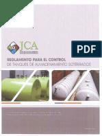 Reglamento Para El Control de Tanques de Almacenamiento Soterrados Radicado El 24-Dic-2014 en El Departamento de Estado