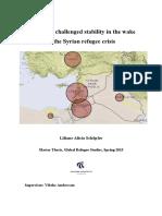 Lebaonon in the Syrian Crisis