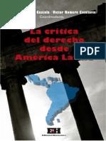 La Crc3adtica Del Derecho Desde Amc3a9rica Latina