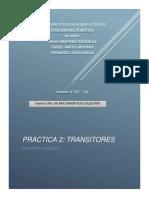 practica+transistores  EQUIPO