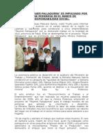 Proyecto Impulsado Por Minera Poderosa en El Marco de Responsabilidad Social