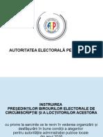 Material Instruire Presedinti BECircumscriptie Alegeri Locale 2016