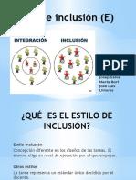 Estilo de inclusión