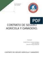 Trabajo Seguro Agricola y Ganadero.