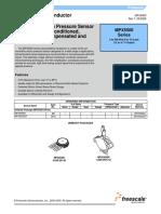 MPX5500 Sensor de Presion Para Arduino